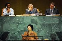 Всесильный властелин Ливии - Муаммар Каддафи