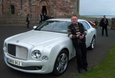 На Bentley по Британии