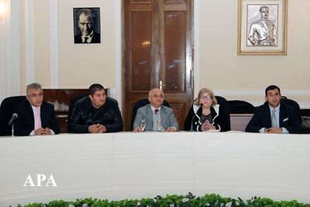 Первый съезд азербайджанцев Турции