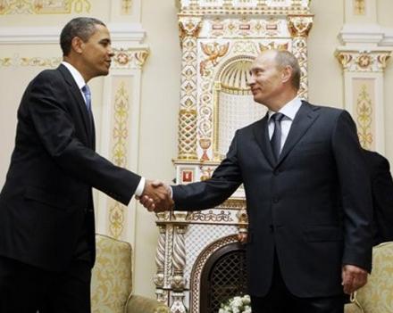 Обама и Путин вместе пофилософствовали