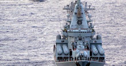 Россия вывела на Каспий самый мощный корабль