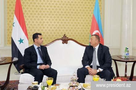 В Баку прибыл президент Башар Асад