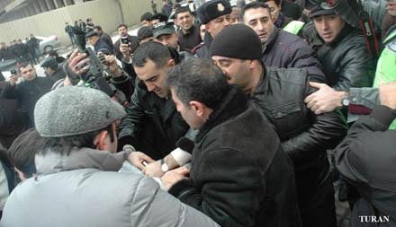 Молодежные активисты задержаны