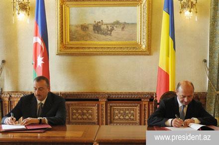 Президент Азербайджана завершил визит в Румынию
