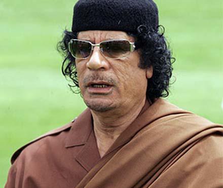"""Ливийские повстанцы """"нашли"""" пропавшего Каддафи"""