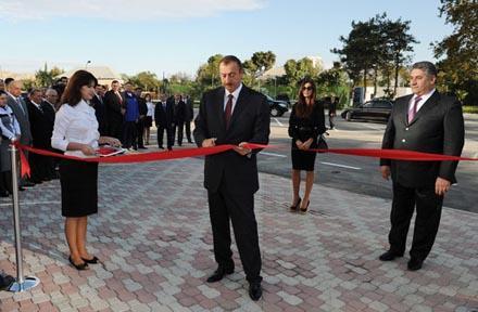 Ильхам Алиев посетил Мингячевир