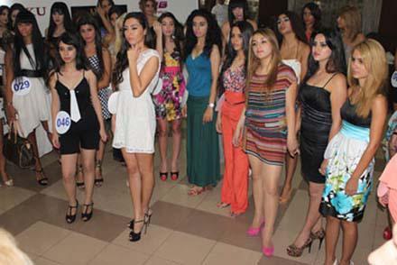 Красавицы из 24 стран мира в Баку