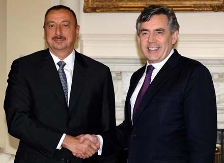 Ильхам Алиев находится в Лондоне
