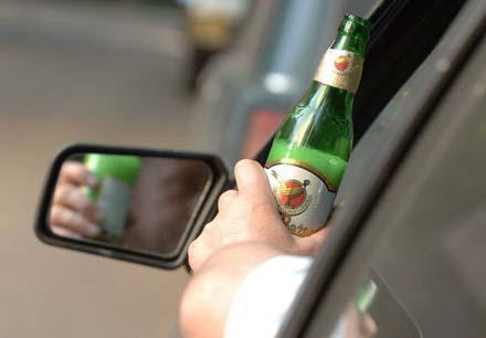 Пьяным за рулем не место
