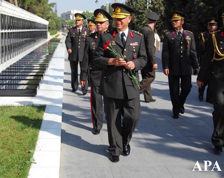 В Баку прибудут турецкие генералы
