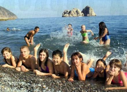 Летний отпуск для детей