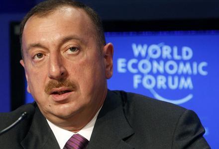 Ильхам Алиев провел встречи в Давосе
