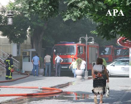 Пожар в Посольстве Ирака