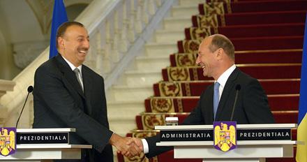 Президент Азербайджана совершает визит в Румынию