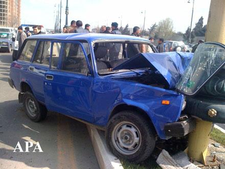 По два человека в день гибнут на дорогах Азербайджана
