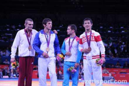 Три медали в один день