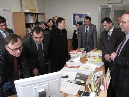 Учебно-ознакомительная поездка административных судей Азербайджана в Германию