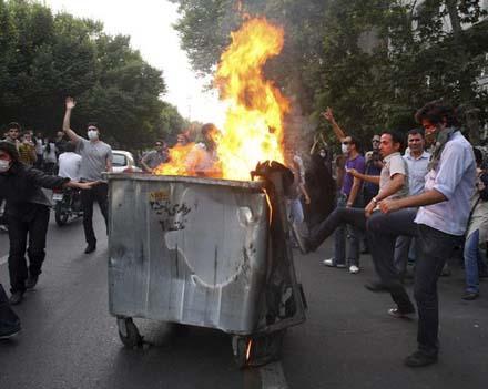 В Иране не утихают беспорядки