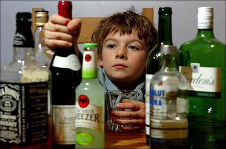Алкоголь и табак несовершеннолетним?
