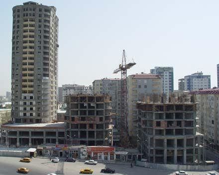 В Баку падают цены на объекты коммерческого назначения